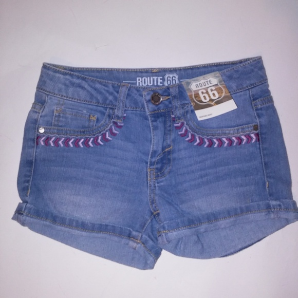 Route 66 Girls Shorts